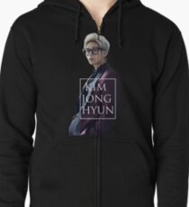 Kim Jonghyun Zipped Hoodie