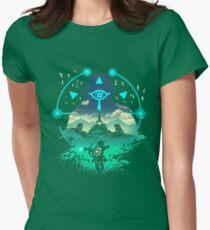 Wild Adventurer Womens Fitted T-Shirt