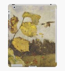 Bruno Liljefors - Jays 1886 iPad Case/Skin