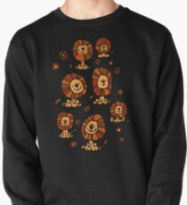 Cute Flower Cartoon Lions by Cheerful Madness!! Pullover