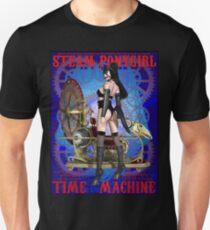 Steampunk Pony Girl Time Machine Unisex T-Shirt