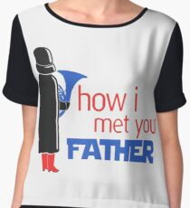 how i met your father Women's Chiffon Top