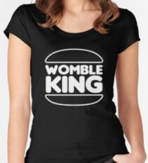 Womble King Women's Fitted Scoop T-Shirt