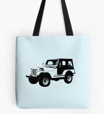 Teen Wolf - Stiles' Jeep Tote Bag