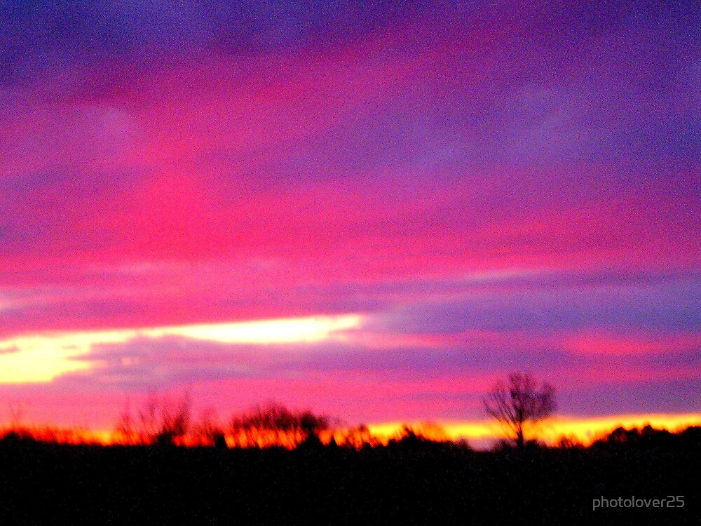 Purple Sunset by photolover25