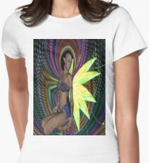 Elf Woman Womens Fitted T-Shirt