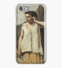 Camille Corot - History iPhone Case/Skin