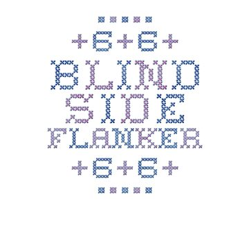 Cross Stitch - 6 - Blind Side Flanker by rugbygifts