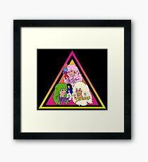 Jem and the Holograms + The Misfits meet The Stingers! Framed Print
