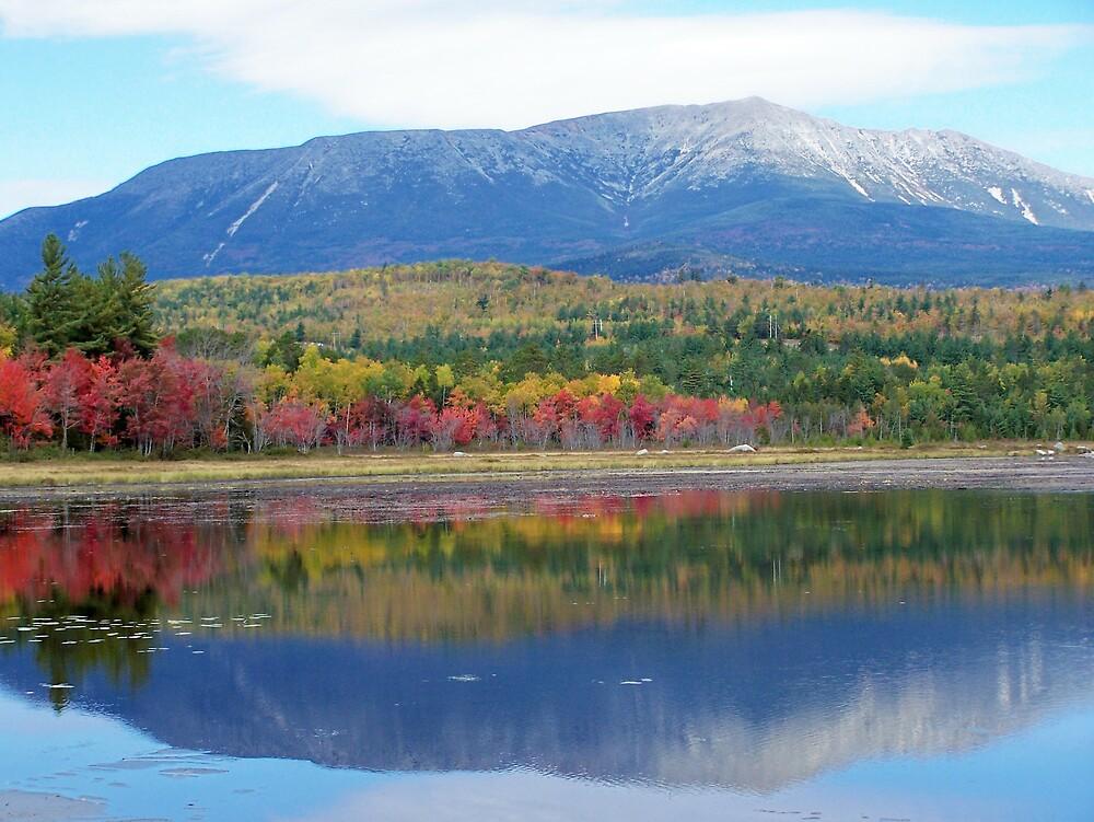 Maine's Katahdin by Gene Cyr