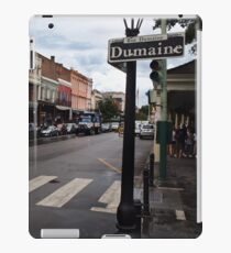 Rain Soaked Dumaine - New Orleans, LA iPad Case/Skin