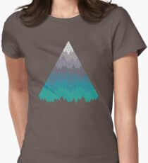 Many Mountains Women's Fitted T-Shirt