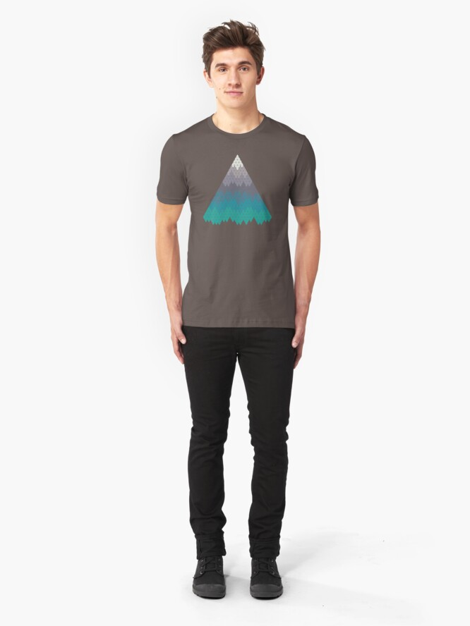 Alternate view of Many Mountains Slim Fit T-Shirt