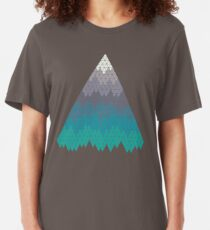 Many Mountains Slim Fit T-Shirt