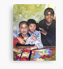 Trois anciens élèves  Canvas Print