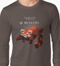 Red panda day Long Sleeve T-Shirt