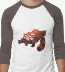 Red panda day Men's Baseball ¾ T-Shirt