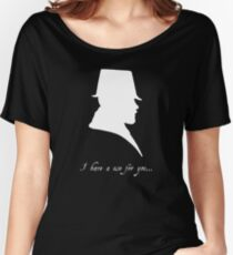 I have a Use For You - White Silhouette Women's Relaxed Fit T-Shirt