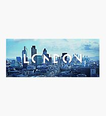 London Layer Photographic Print
