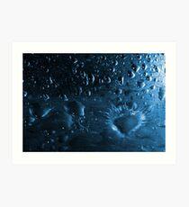 Water Explosion Art Print