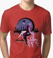 Black Lady (Chibiusa) Black city Tri-blend T-Shirt