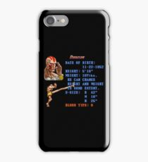 D Stats iPhone Case/Skin