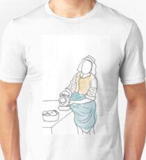 Melkmeisje Art Manipulation Unisex T-Shirt
