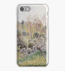 Camille Pissarro - Apple Trees In Blossom, Eragny iPhone Case/Skin