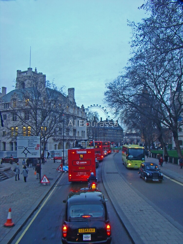 London Sights by Al Bourassa