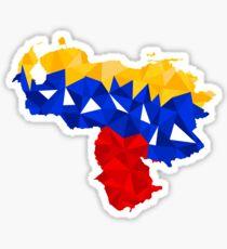 Venezuela Abstract Sticker