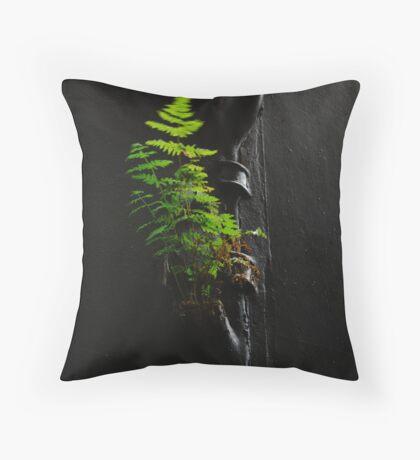 Urban Foliage Throw Pillow