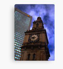 Architecture in Melbourne Canvas Print