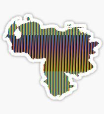 Venezuela Cruz Diez Sticker