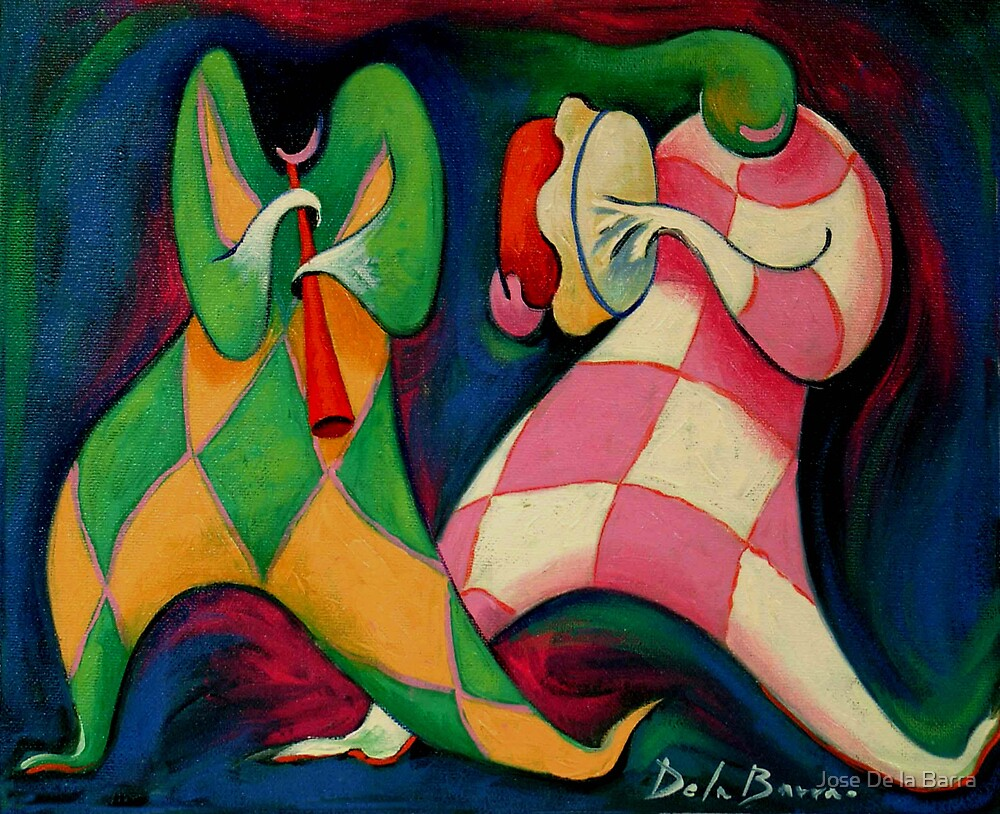 Duo musical by Jose De la Barra