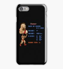 Z Stats iPhone Case/Skin