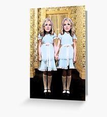 Double Trouble Kellyanne Greeting Card