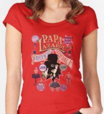Papa Lazarou's Pandemonium Carnival! Women's Fitted Scoop T-Shirt