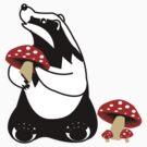Badger, Badger, Badger, Badger, Mushroom by HaRaKiRi