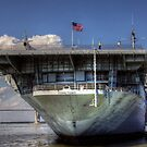 USS Yorktown (CV-5) Conventionally-Powered Aircraft Carrier by TJ Baccari Photography