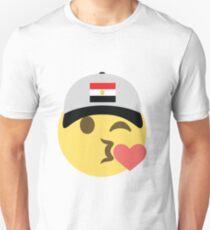 Egypt Emoji Winky Kiss Baseball Hat  T-Shirt