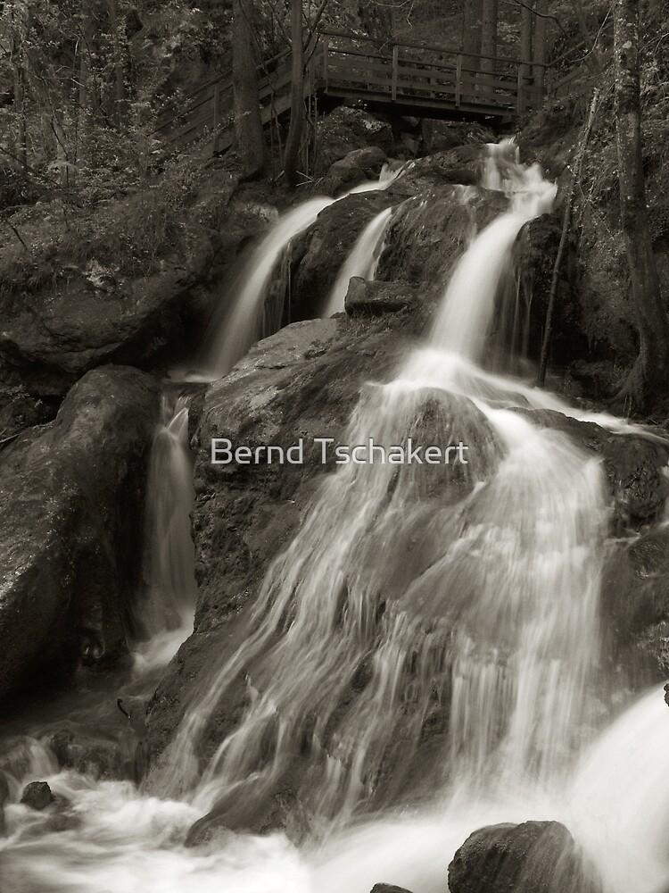 Cascading Waterfall by Bernd Tschakert