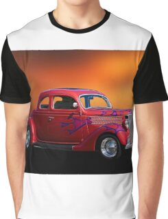 1936 Ford 'Five-Window' Coupe Graphic T-Shirt