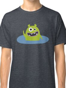 Mr. Green and the pool Classic T-Shirt