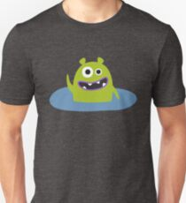 Mr. Green and the pool Unisex T-Shirt