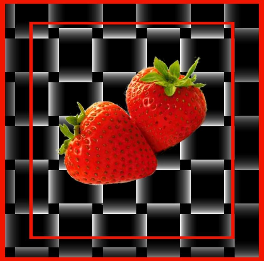 strawberries by CheyenneLeslie Hurst