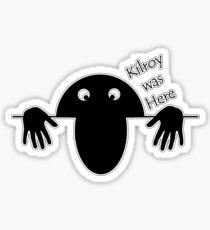 Kilroy Sticker