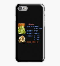 Electric Stats  iPhone Case/Skin