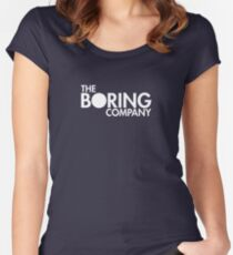 The Boring Company Women's Fitted Scoop T-Shirt