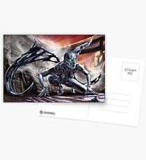 Cyberpunk Painting 018 Postcards
