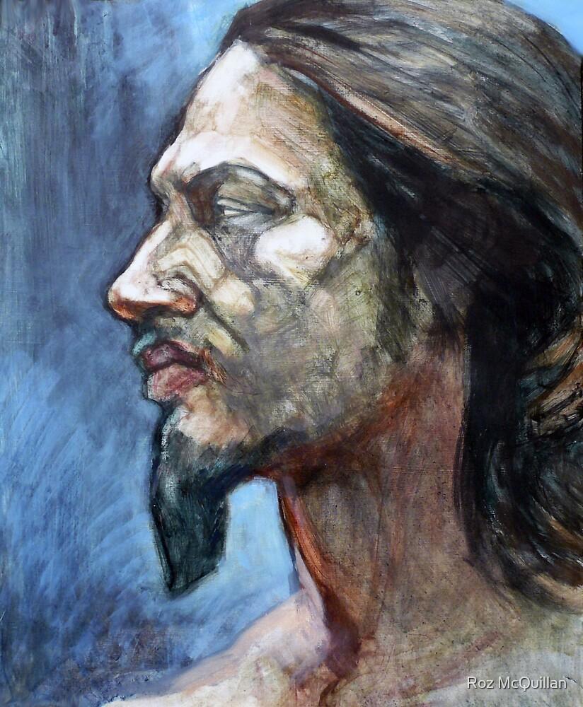 Portrait of Michael by Roz McQuillan